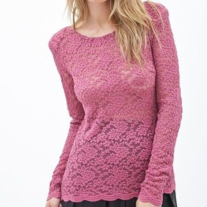 NWT Forever 21 Premium Knit Top
